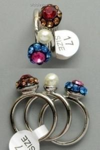 Кольцо Три Желанья,комплект R007