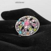 Кольцо на резинке Самоцветы R033