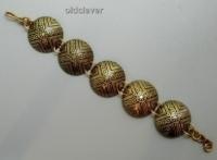 Браслет сферический,латунь Т8.010