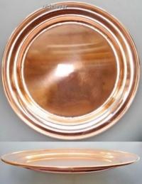 Тарелка медная, 18 см МП013