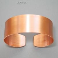 Медный браслет,гладкий MB002-5
