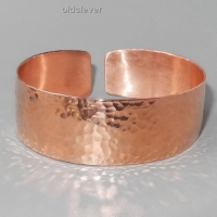 Медный браслет кованый MB057-2