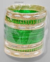 Набор браслетов Тара зеленый BR080