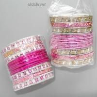 Набор браслетов Тара розовый BR080-2