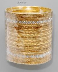 Набор браслетов Тара золото BR080-3