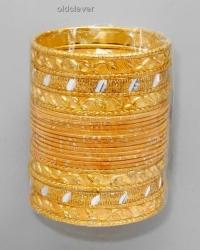 Набор браслетов Деви золото BR081-3
