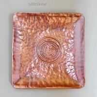 Тарелка сувенирная медная круглая МD013